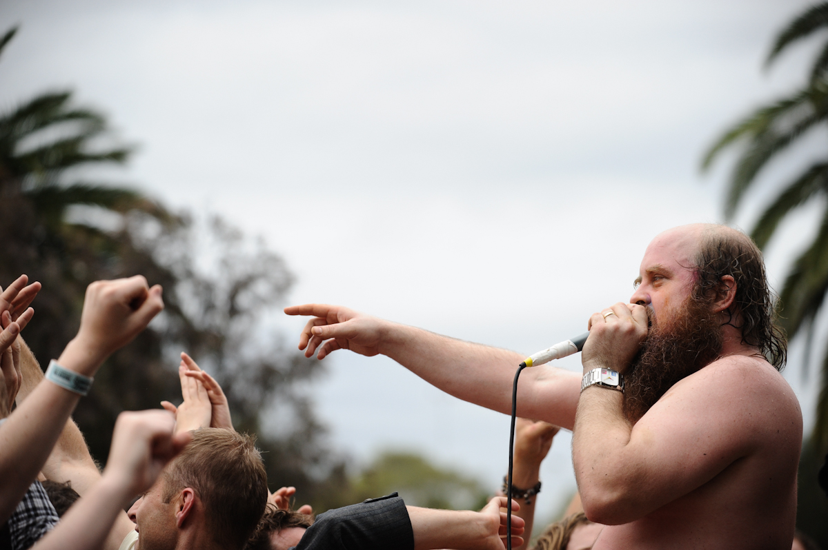 Les Savy Fav at Laneway Festival Melb by Carole Whitehead