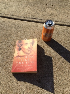 Nothing Like The Sun by Anthony Burgess & Mountain Goat's summer ale